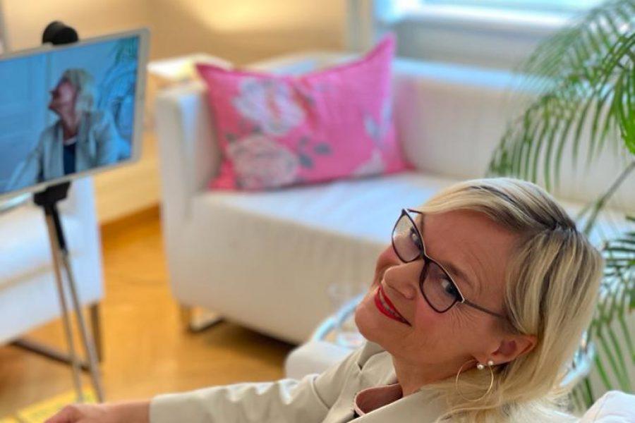 Christine Backhaus beim ARD zum Thema Online-Dating für Singles